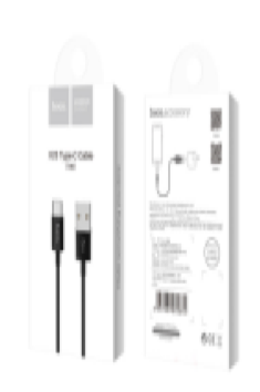 Кабель Type-C Hoco X23 Skilled type-c charging data cable, black