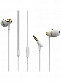 Наушники Borofone  BM13 Coolmelody universal wired earphone white