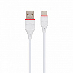 Кабель Borofone BX17 Enjoy charging cable for Type-C white