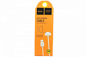 Кабель hoco X1 Rapid charging cable for iPhone 30 Pin 1M white