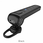 Наушники hoco  E33 Whistle bluetooth headset black