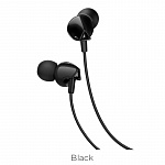 Наушники hoco M60 Perfect sound universal earphones with mic black