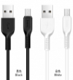 Кабель MicroUSB Hoco X13 Easy charged Micro charging cable(1M), white