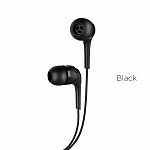 Наушники hoco M40 Prosody universal earphones with microphone black