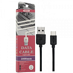 Кабель REMAX  Light cable                       Type-C  1M                             RC-006a black