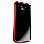 Внешний аккумулятор Baseus full screen bracket wireless charge Power Bank 8000mAh red PPALL-EX09