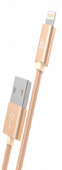 Кабель MicroUSB Hoco X2 Micro knitted Charging cable, gold
