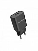 Сетевое зарядное устройство Borofone  BA20A Sharp single port charger set(Micro)(EU) black