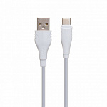 Кабель Borofone BX18 Optimal charging data cable for Type-C(L=1M) white